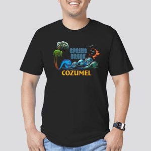 3D Palms Waves Sunset Spring Break COZUMEL T-Shirt