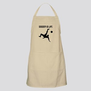 Soccer Is Life Apron