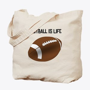 Football Is Life Tote Bag