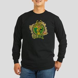 Loki 1 Long Sleeve Dark T-Shirt
