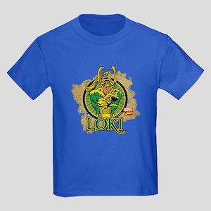 Loki 1 Kids Dark T-Shirt