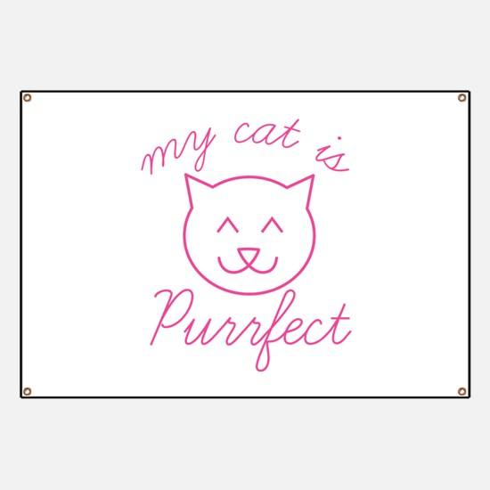 My Cat Is Purrfect Banner