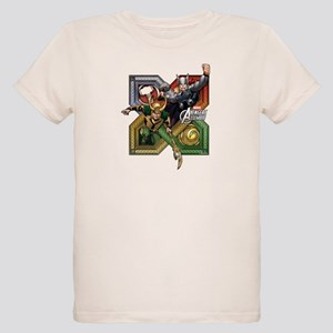 Thor VS Loki Organic Kids T-Shirt