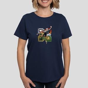 Thor VS Loki Women's Dark T-Shirt