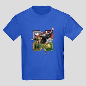 Thor VS Loki Kids Dark T-Shirt