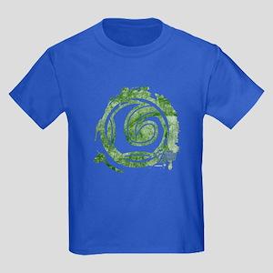 Loki Grunge Icon Kids Dark T-Shirt