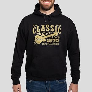 Classic Since 1970 Hoodie (dark)