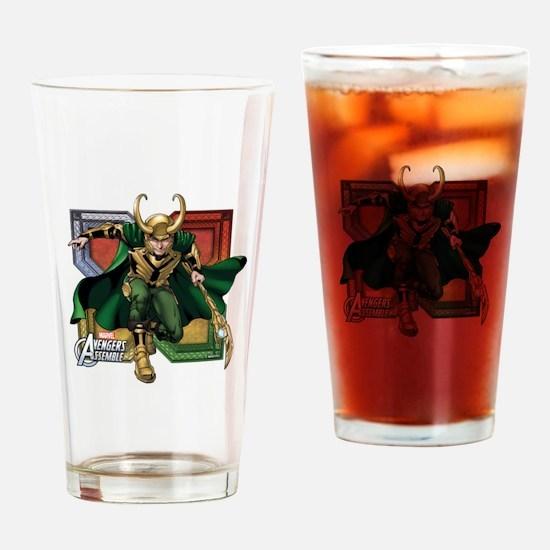 Loki 2 Drinking Glass