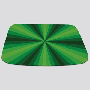 Green Illusion Bathmat