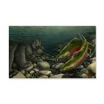 Save Our Salmon 20x12 Wall Decal