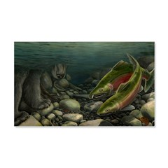 Save Our Salmon Wall Decal