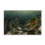 Save Our Salmon Mini Poster Print