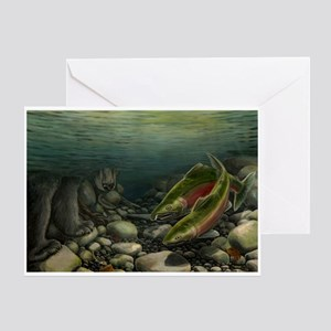 Save Our Salmon Greeting Card