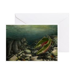Save Our Salmon Greeting Cards (Pk of 10)