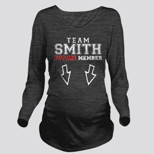 Team Smith, Future M Long Sleeve Maternity T-Shirt