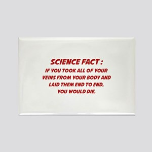 Science Fact Rectangle Magnet