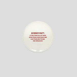 Science Fact Mini Button