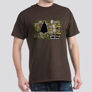 Jack the Ripper Victim Map Original Dark T-Shirt