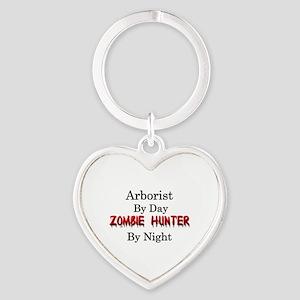 Arborist/Zombie Hunter Heart Keychain