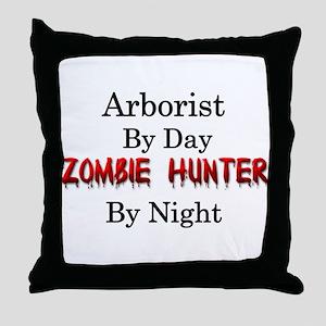 Arborist/Zombie Hunter Throw Pillow