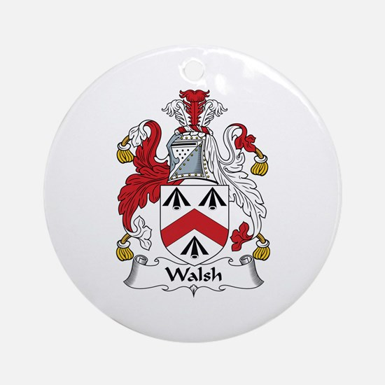 Walsh Ornament (Round)