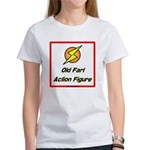 Old Fart Action Figure Women's T-Shirt