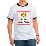 Old Fart Action Figure Ringer T