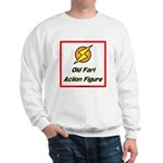 Old Fart Action Figure Sweatshirt