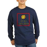 Old Fart Action Figure Long Sleeve Dark T-Shirt