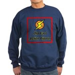 Old Fart Action Figure Sweatshirt (dark)