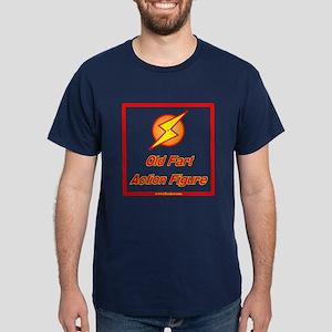 Old Fart Action Figure Dark T-Shirt