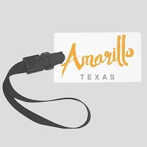 Amarillo Texas - Large Luggage Tag