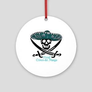 Viva! Cinco de Mayo! (SW) Ornament (Round)