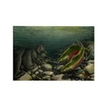 Save Our Salmon Rectangle Magnet (100 pack)