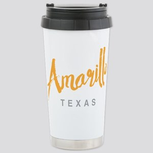 Amarillo Texas - Stainless Steel Travel Mug
