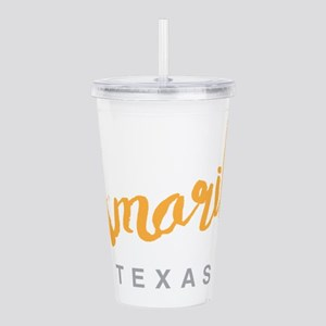 Amarillo Texas - Acrylic Double-wall Tumbler