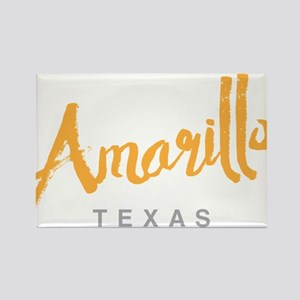 Amarillo Texas - Rectangle Magnet