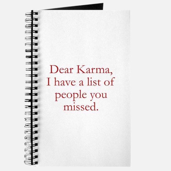 Dear Karma Journal