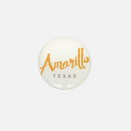 Amarillo Texas - Mini Button