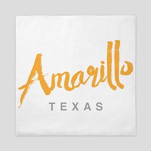 Amarillo Texas - Queen Duvet