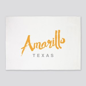 Amarillo Texas - 5'x7'Area Rug