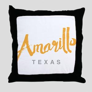 Amarillo Texas - Throw Pillow