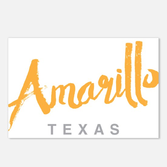 Amarillo Texas - Postcards (Package of 8)