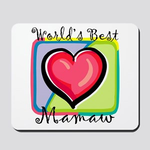 World's Best Mamaw Mousepad