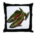 Save Our Salmon Throw Pillow