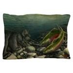 Save Our Salmon Pillow Case