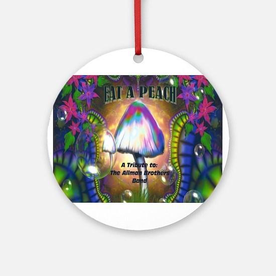 Eat a Peach band logo Ornament (Round)