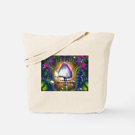 Eat a Peach band logo Tote Bag