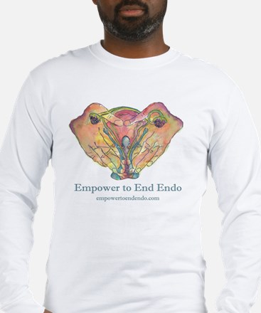 Empower to End Endo Long Sleeve T-Shirt