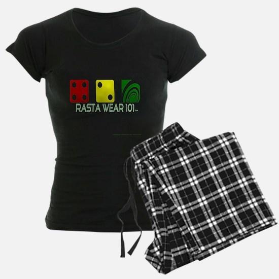 Rasta Wear 101: 420 Special on black pajamas